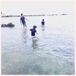 海でバーベキュー♪